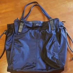 Black Burberry Buckleigh Nylon Tote